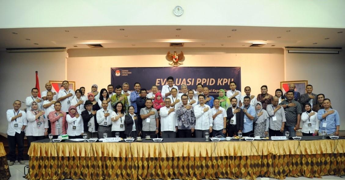 Rapat Evaluasi PPID Tahun 2017