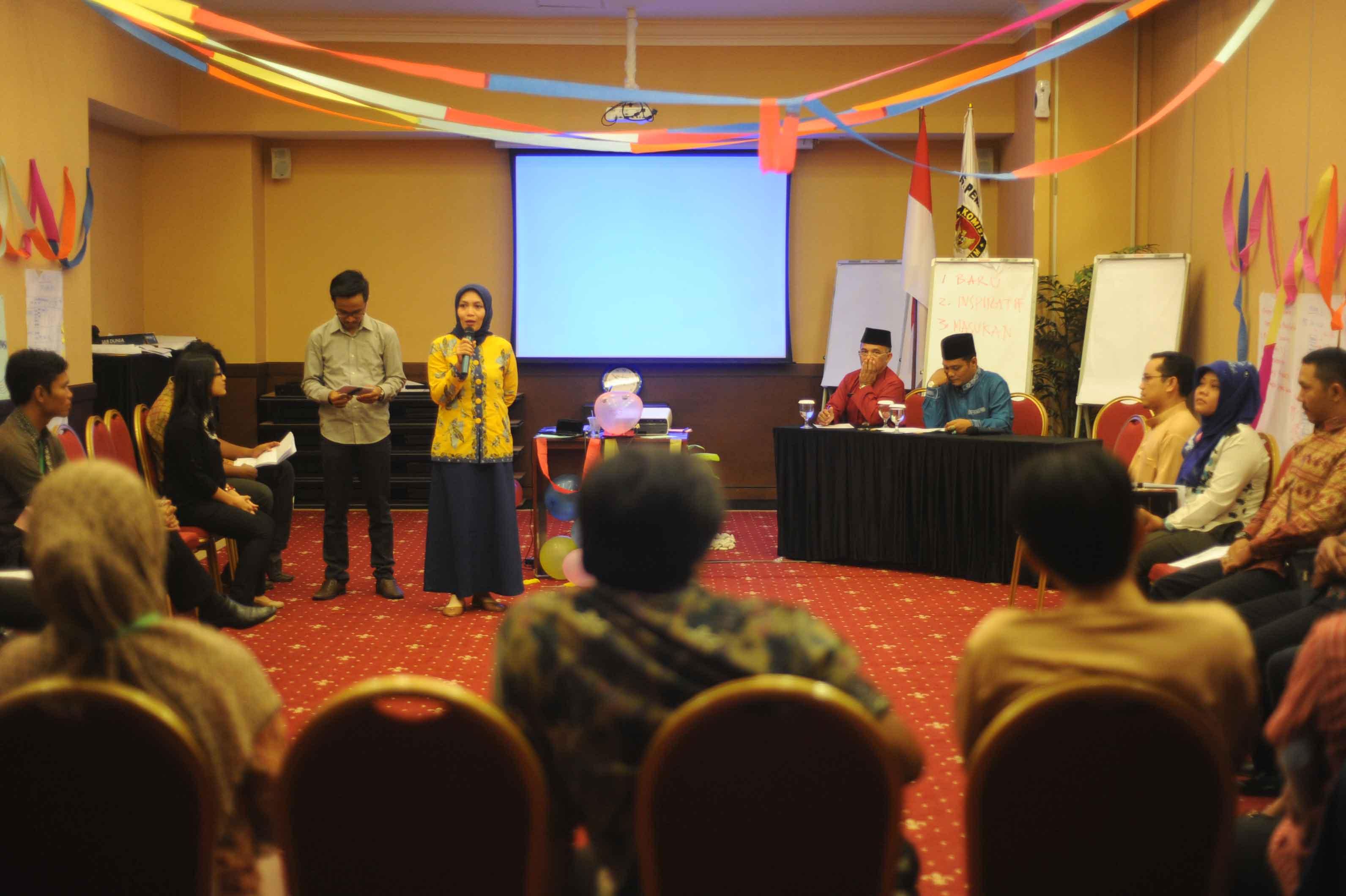 Pelatihan PPID Provinsi Kepulauan Riau 2015